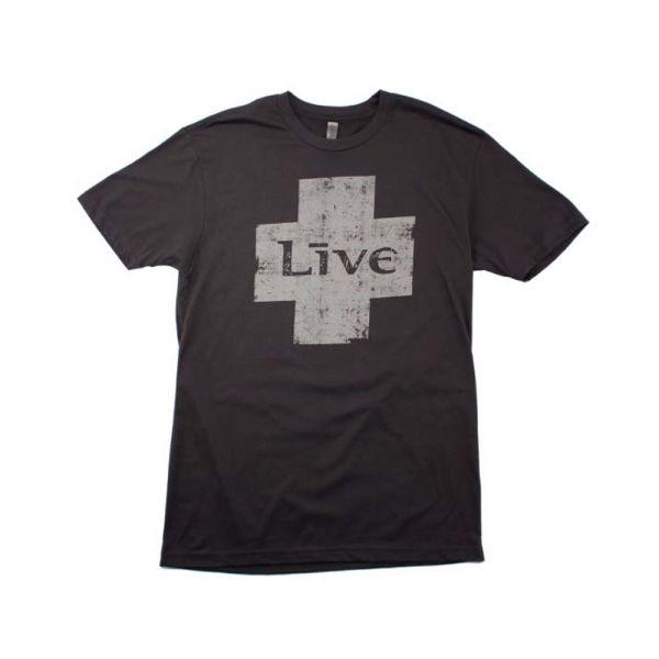 Grey Cross Black Tshirt