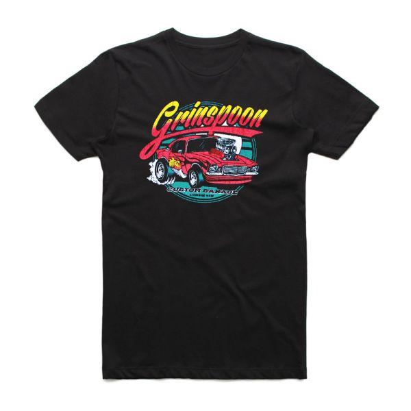 Custom Garage Black Tshirt