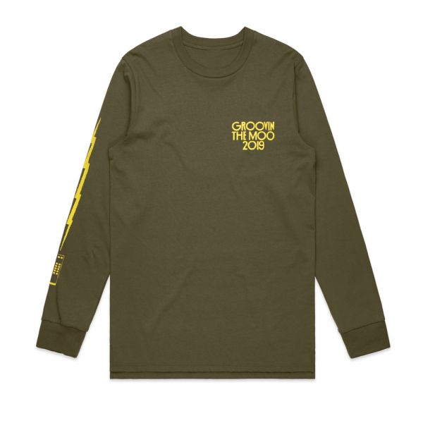 Television Army Green Longsleeve 2019 Event