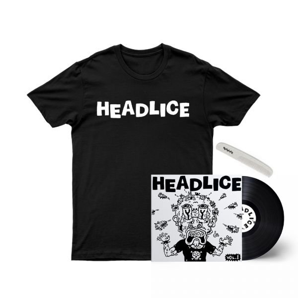 "Headlice Black /Vol 1 - 7"" Single/Comb"