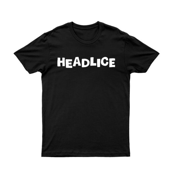Headlice Black Tshirt