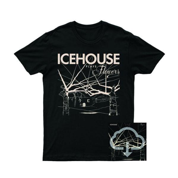 Icehouse Plays Flowers Tshirt/Digital Download