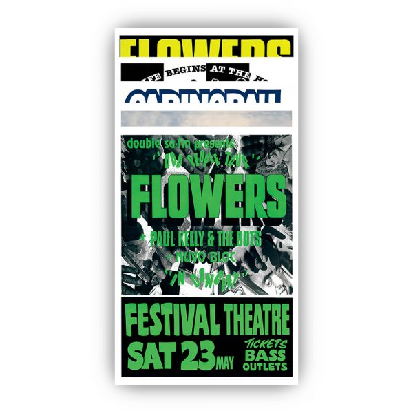 Icehouse Plays Flowers Poster Set