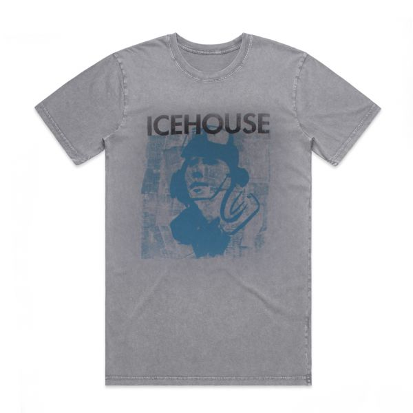 Code Blue Stonewash Grey Tshirt