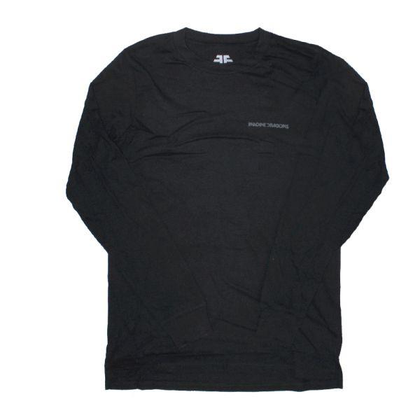 Triangle Black Longsleeve Tshirt