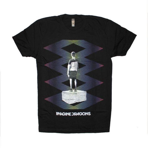 Zig Zag Black Tshirt