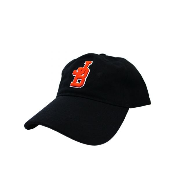 'JB' Black and Red Cap