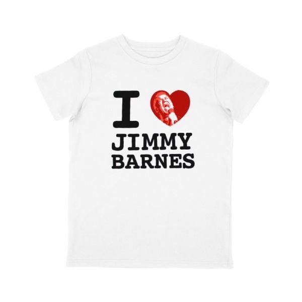 'I Love Jimmy Barnes' Kids T-shirt