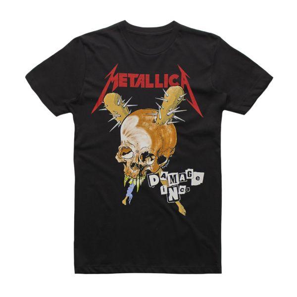 Damage Inc Black Tshirt