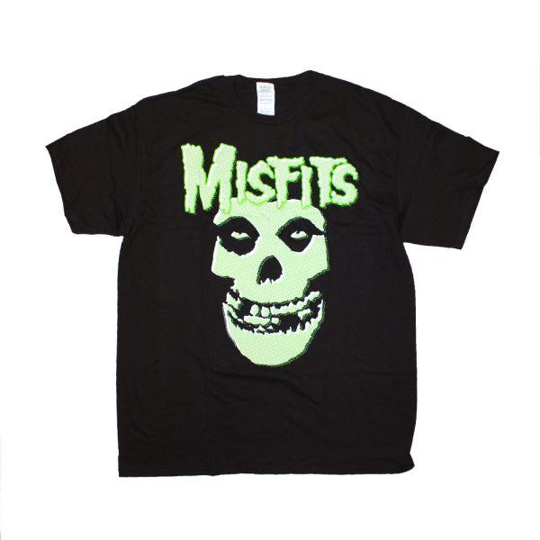 Glow Fiend Skull Black Tshirt