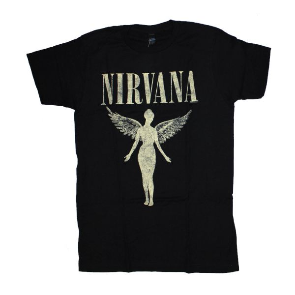 In Utero Tour Black Tshirt