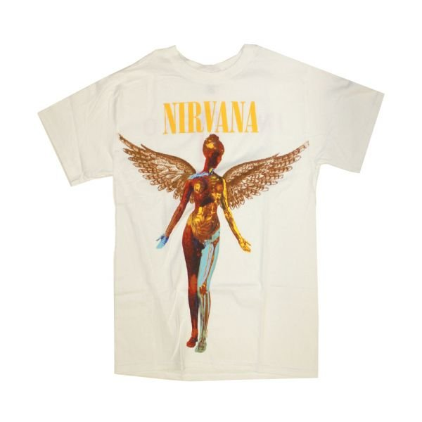 In Utero White Tshirt