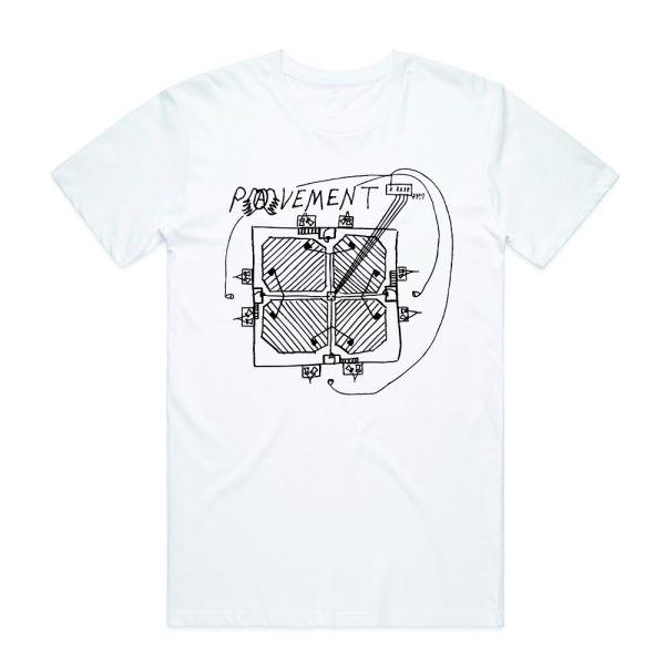 Stage Plot White Tshirt