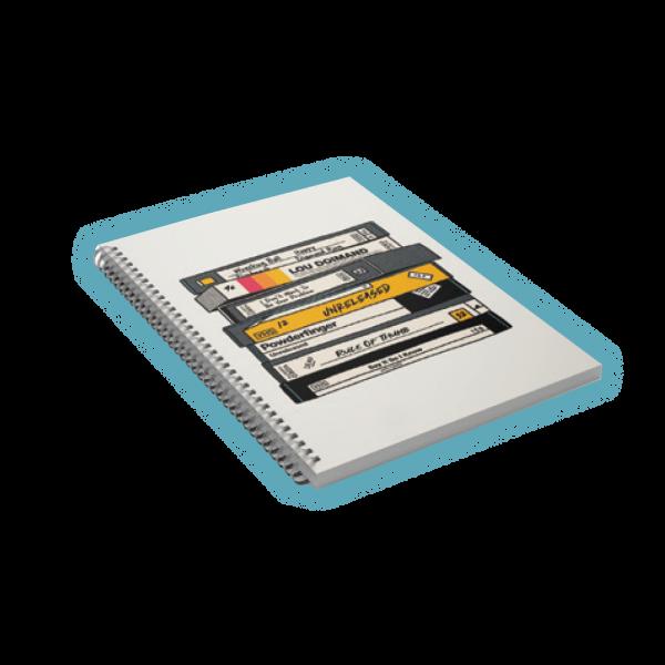 A5 VHS Notebook