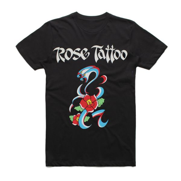 Tatts Forever Black Tshirt