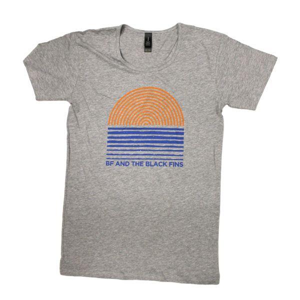 Sun Lines Grey Tshirt