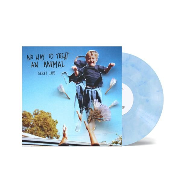 "No Way To Treat An Animal (EP) 10"" 2nd Version Blue/White Marble"