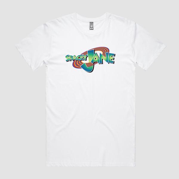 Space Jam Logo White Tshirt