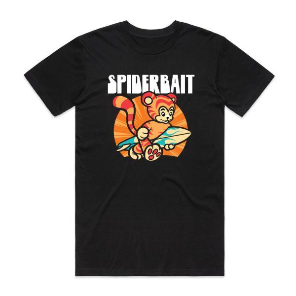 Summer Tiger Black Tshirt