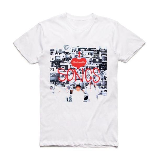 I Love Songs White Tshirt