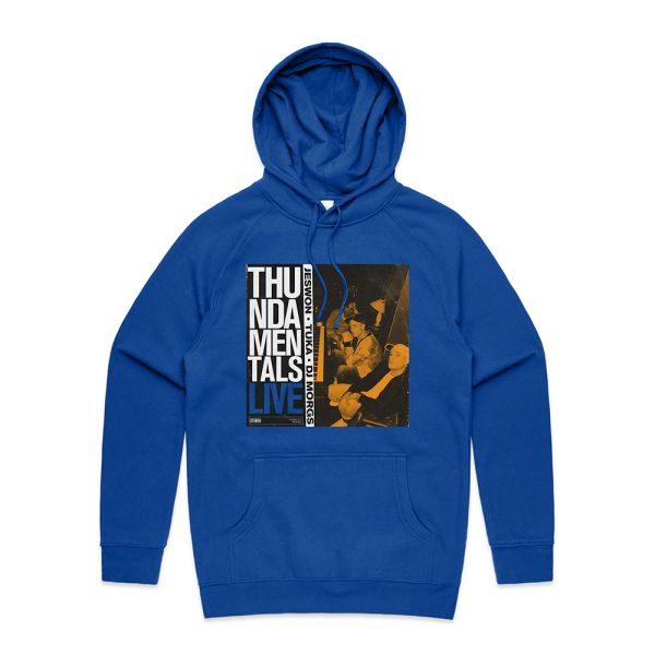 ISO TAPES BLUE HOODY