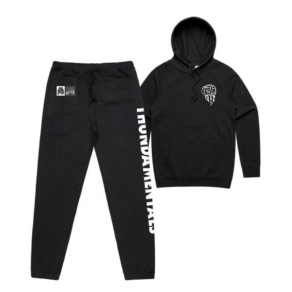 Black Tracksuit Hoodie and Pants