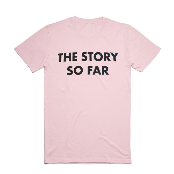 Blocks Light Pink Tshirt