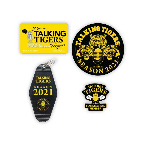 2021 Talking Tragic Club Membership Bundle Pack (1 Per Member) RENEWING MEMBERS ONLY