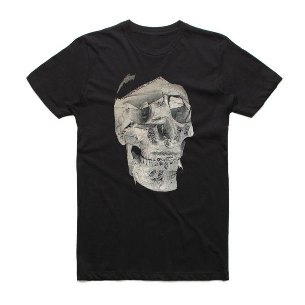 Skull Black Tshirt