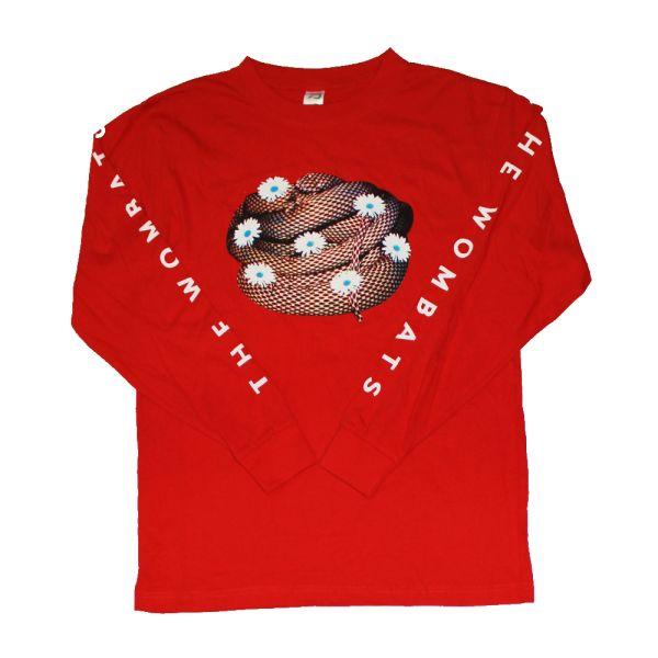 Red Long Sleeve Tshirt
