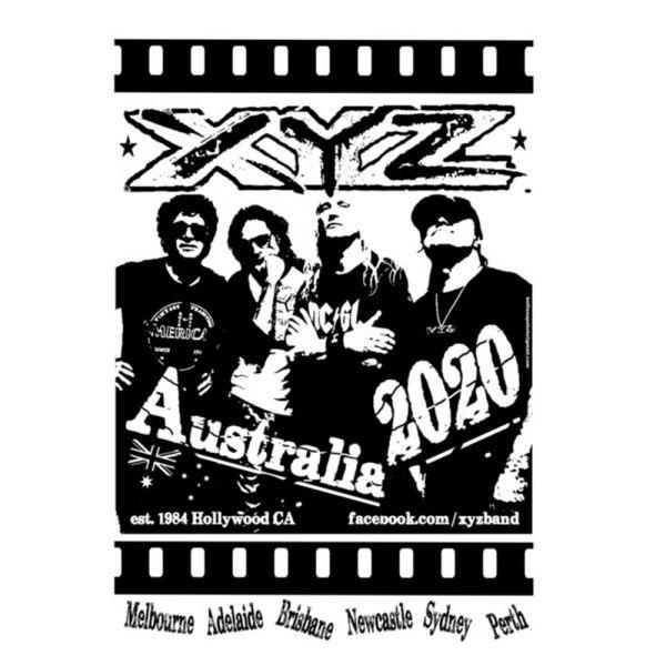 Poster Australian Tour 2020