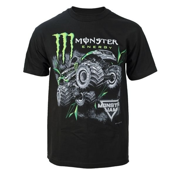 Monster Energy Jump Black Tee