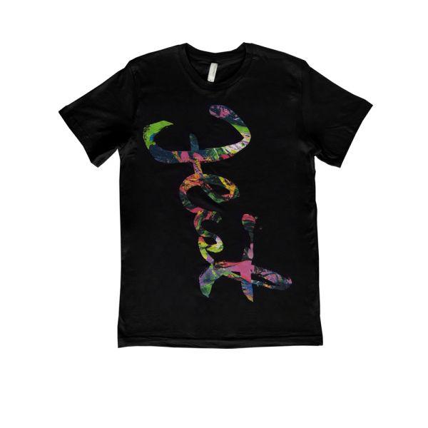 Script Black Tshirt