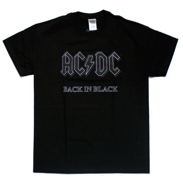 Back In Black Black Tshirt