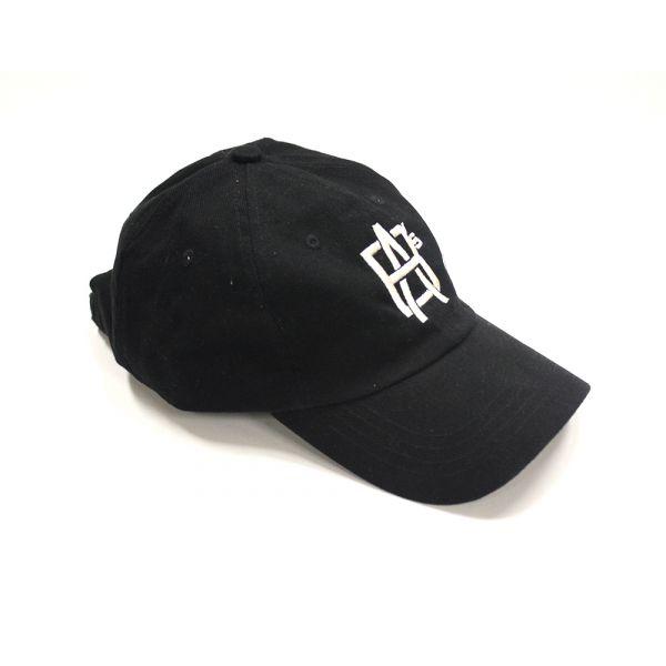 Embroidered Black Hat