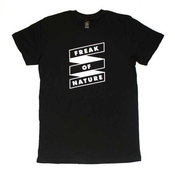 Freak Of Nature Black Tshirt