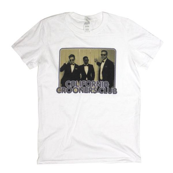 Band Photo White Tshirt