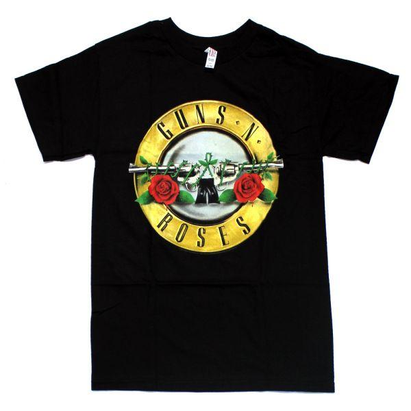 Classic Bullet Logo Black Tshirt