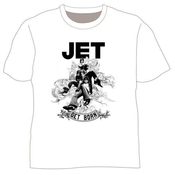 Get Born White Tshirt