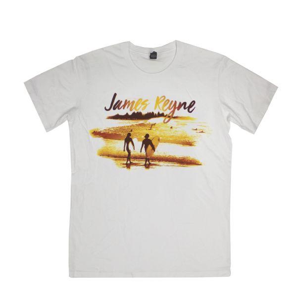 Sunset White Tshirt